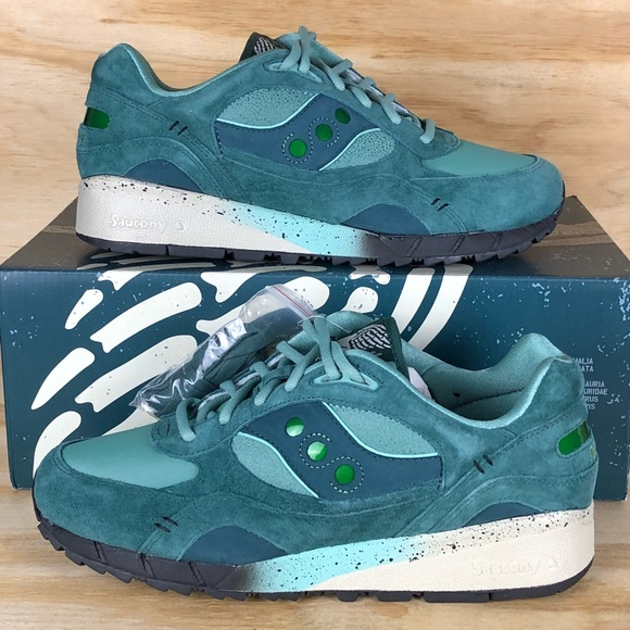 "promo code a8fde 919c5 Saucony X Feature ""Living Fossil"" Shadow 6000 Size NWT"